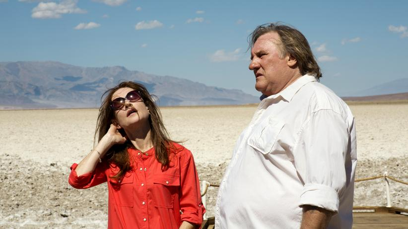 """""""Valley of Love"""": Genervt in der Wüste: Isabelle Huppert und Gérard Depardieu als Ex-Ehepaar"""