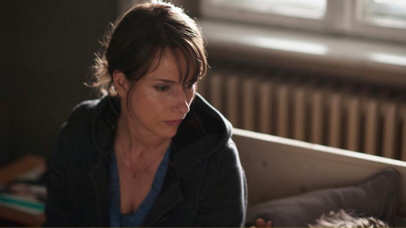 """""""Im Zweifel"""": Claudia Michelsen als Pastorin Judith in dem ARD-Film """"Im Zweifel""""."""