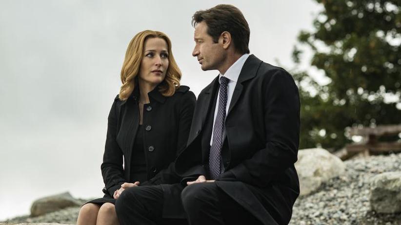 """""""Akte X"""": Mulder und Scully sind wieder im Einsatz."""