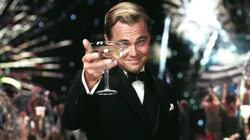"""Leonardo DiCaprio: Hinter seinem Lächeln wartet auch immer ein Abgrund: Leonardo Di Caprio in """"Der Große Gatsby""""."""