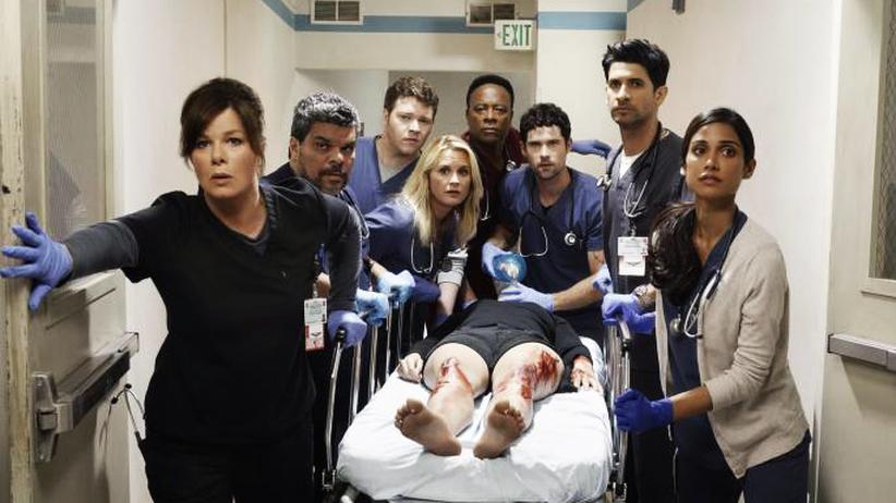 """""""Code Black"""": Ständige Überforderung: Szenenbild aus der Krankenhausserie """"Code Black"""""""