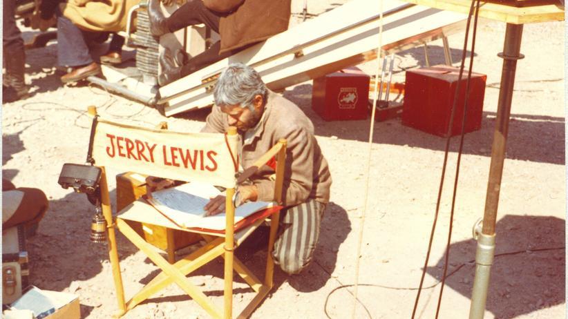 """Der Clown"": Jerry Lewis am Set seines Holocaust-Films ""The day the clown cried"""