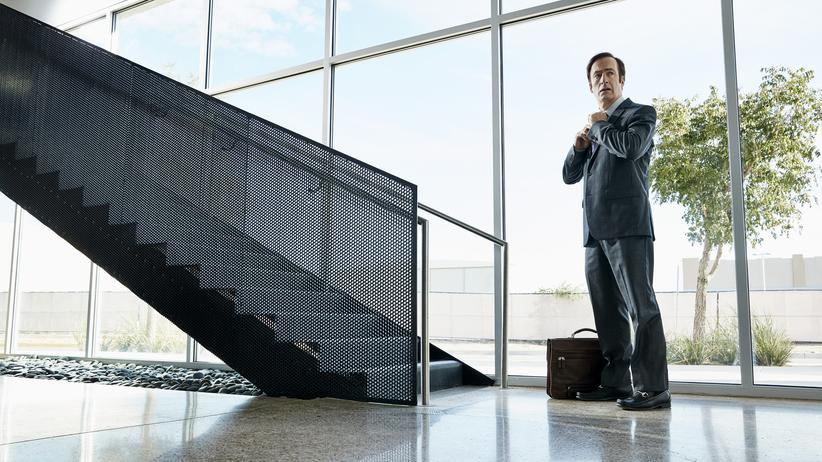 "Bob Odenkirk als Saul Goodman in der Serie ""Better Call Saul"""