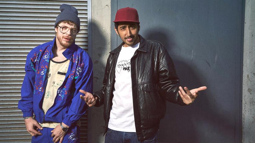 """Blockbustaz"": Ferris MC und Eko Fresh in der ZDF-Comedyserie ""Blockbustaz"""