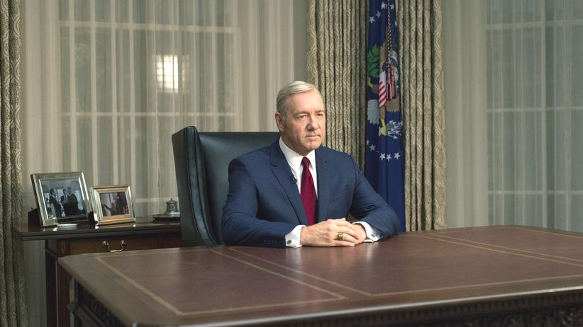 """House of Cards"": Kevin Spacey als Frank Underwood in der Netflix-Serie ""House of Cards"""