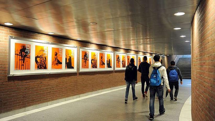 DOK.fest München: Plakate zum DOK.fest im vergangenen Jahr