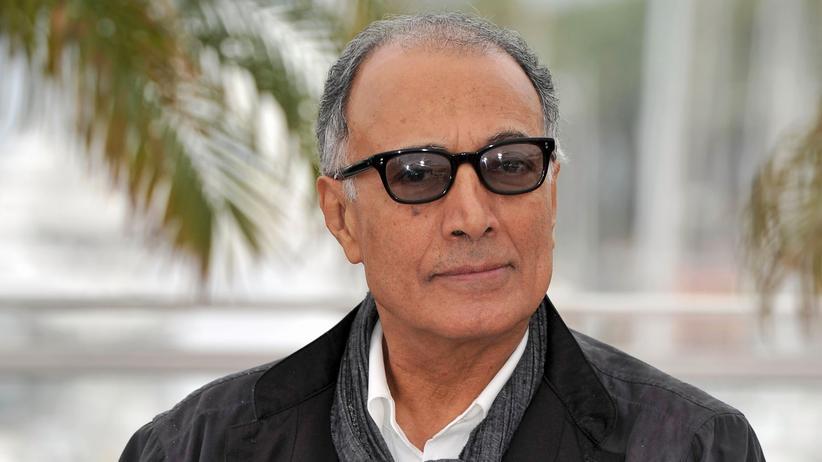 Iranischer Regisseur: Der iranischer Regisseur Abbas Kiarostami bei dem Filmfestspielen in Cannes 2012.