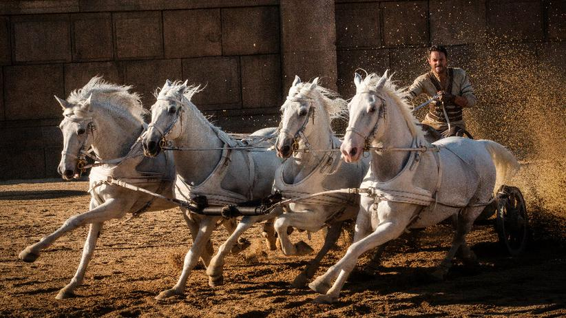 """Ben Hur"": Jack Huston in Timur Bekmambetows ""Ben Hur""-Remake, das am 1. September in die deutschen Kinos kommt."