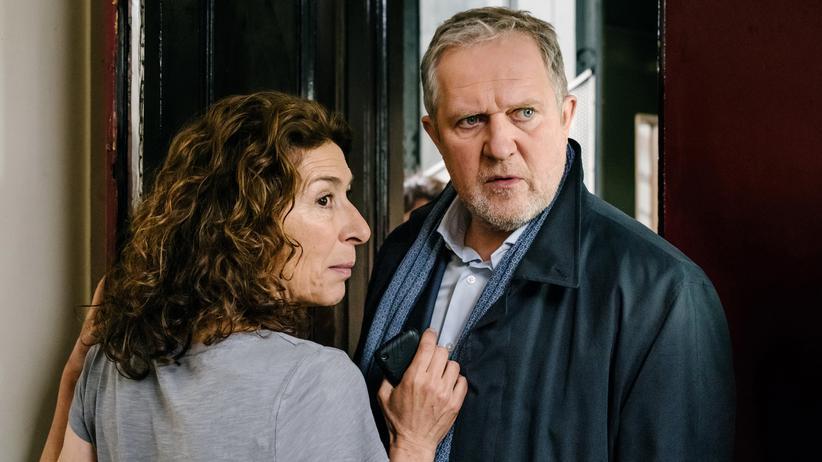 """""""Tatort"""" Wien: Sissi und Franz Joseph: Adele Neuhauser (Bibi Fellner) und Harald Krassnitzer (Moritz Eisner)"""