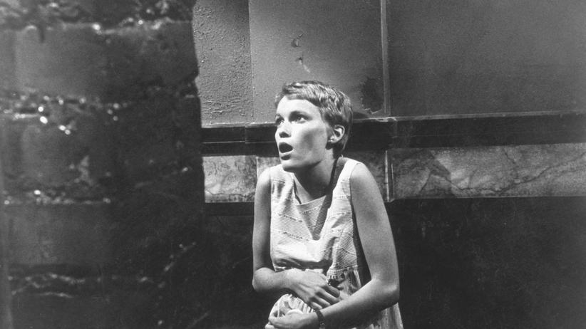 "Mia Farrow in ""Rosemaries Baby"" von 1968"