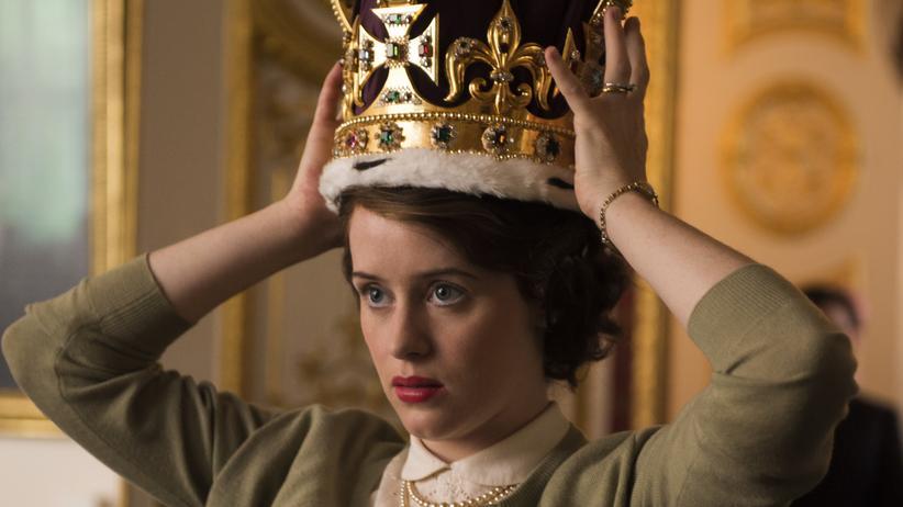 """""""The Crown"""": Schwere Bürde: Claire Foy als 25-jährige Prinzessin Elizabeth kurz vor ihrer Krönung zur englischen Königin"""
