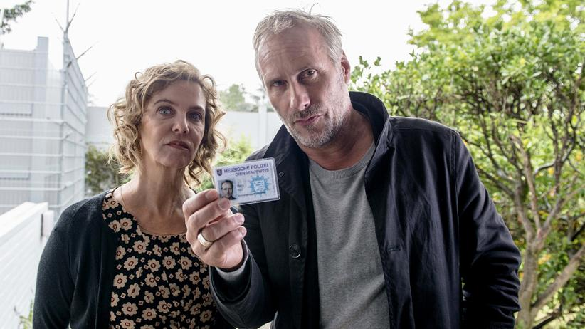 """""""Tatort"""" Frankfurt: Die Langeweile setzt schon bei den Hauptfiguren ein: Anna Janneke (Margarita Broich) und Paul Brix (Wolfram Koch)."""