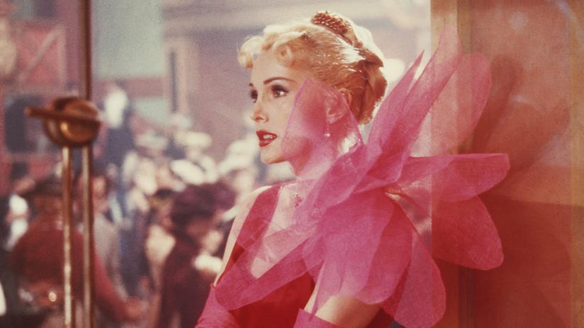 """Zsa Zsa Gabor 1952 in dem Film """"Moulin Rouge"""""""
