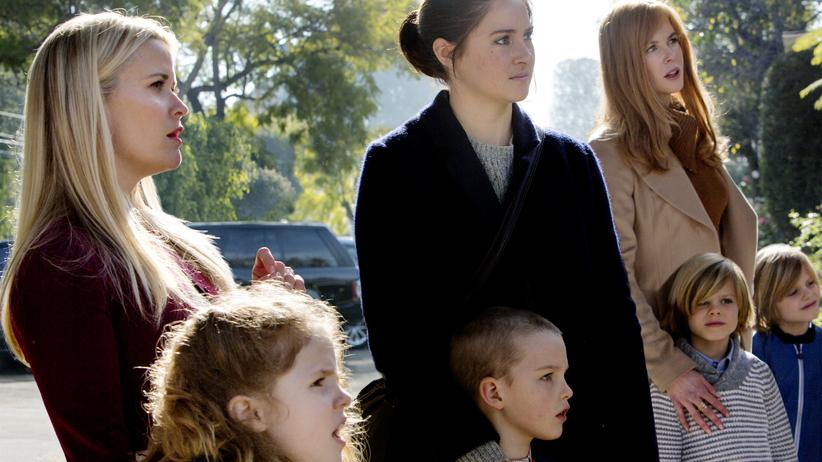 """Big Little Lies"": Reese Witherspoon, Shailene Woodley und Nicole Kidman als Super-Mommys in der neuen HBO-Serie ""Big Little Lies""."