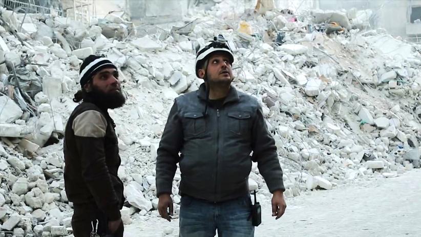 """""""Die letzten Männer von Aleppo"""": Khaled und Youssuf in den Trümmern Aleppos"""