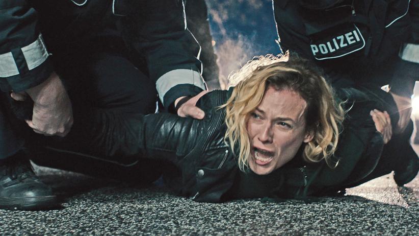"""Filmfestspiele von Cannes: Verliert Mann und Sohn durch ein Bombenattentat: Diane Kruger als Katja in Fatih Akins """"Aus dem Nichts"""""""