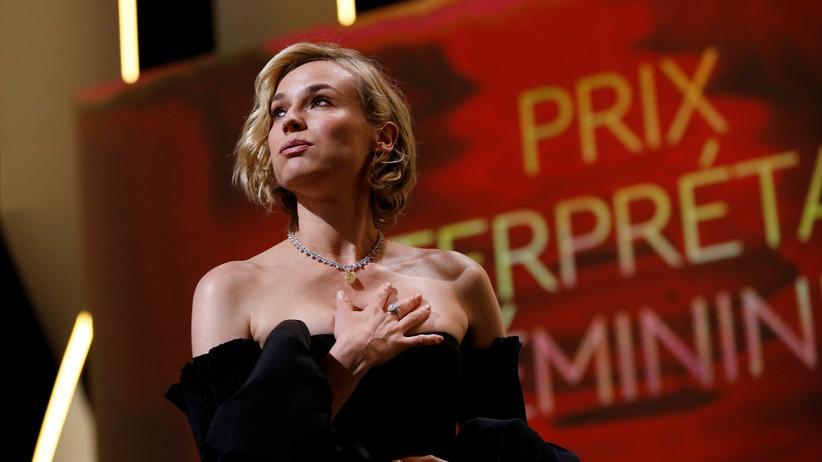 Filmfestival von Cannes: Schauspielerin Diane Kruger bei dem Filmfestspielen in Cannes