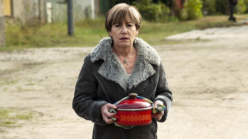 """""""Polizeiruf 110"""" Frankfurt/Oder: Ulrike Krumbiegel als Mutter Heidi Schoppe  im """"Polizeiruf 110"""" aus Frankfurt/Oder"""