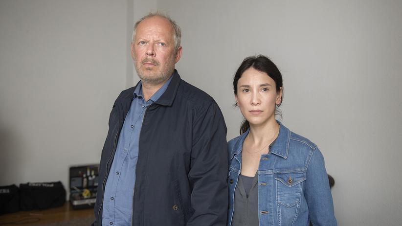 """Tatort"" Kiel: Zum letzten Mal dabei: Kommissarin Sarah Brandt (Sibel Kekilli), im Dauerclinch mit ihrem Kollegen Klaus Borowski (Axel Milberg)."