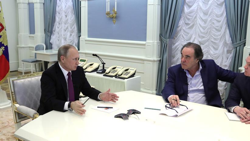 """""""The Putin Interviews"""": Fernsehen mit Wladimir"""