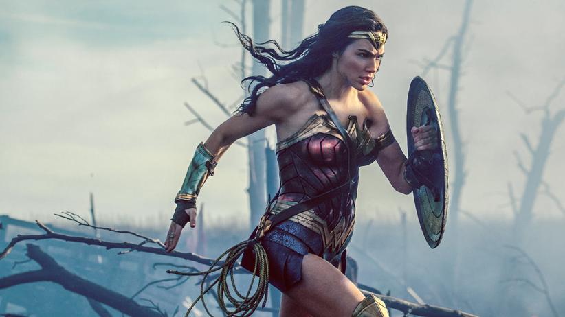 """Wonder Woman"": Gal Gadot als Amazonenprinzessin Diana in ""Wonder Woman"""