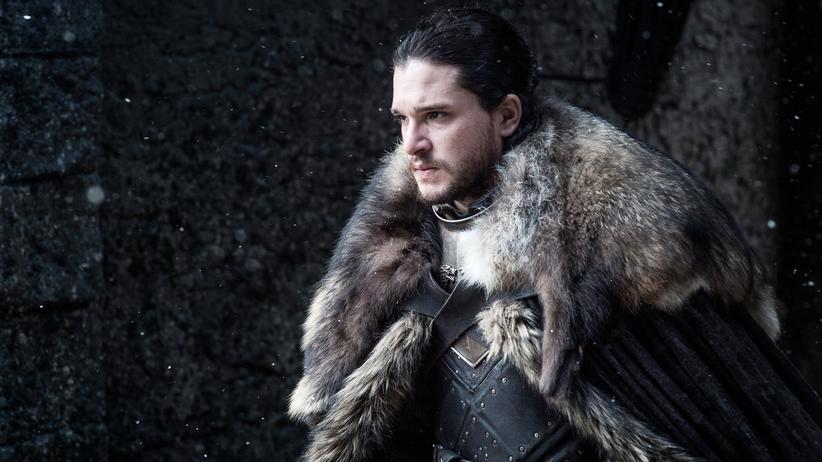 """Game of Thrones"": Bleibt er König des Nordens? Jon Snow (Kit Harington) in der siebten Staffel von ""Game of Thrones"""