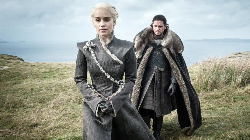 """Game of Thrones"": Prinzessin und Prinz: Daenerys Targaryen (Emilia Clarke) und Jon Snow (Kit Harington) in der siebten Staffel von ""Game of Thrones"""