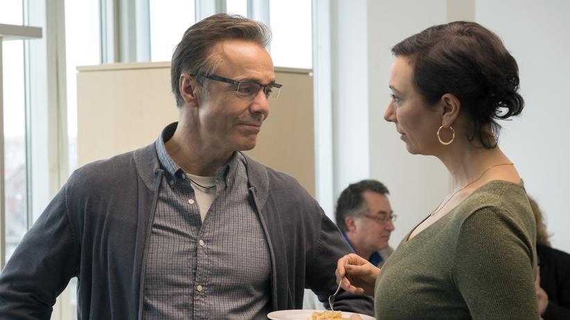 """""""Meine fremde Freundin"""": Wer ist Täter, wer ist Opfer? Volker Lehmann (Hannes Jaenicke) und Judith Lorenz (Ursula Strauss) in dem TV-Film """"Meine fremde Freundin"""""""