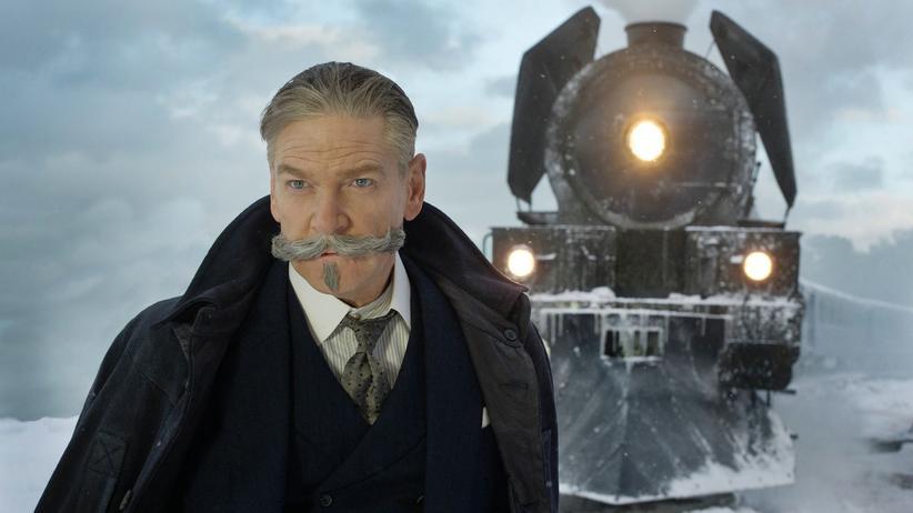 """""""Mord im Orient-Express"""": Kenneth Branagh in der Rolle des Detektivs Hercule Poirot"""