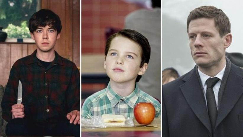 "Binge-Watching: Alex Lawther in ""The End of the F***ing World"", Iain Armitage in ""Young Sheldon"" und James Norton in ""McMafia"""