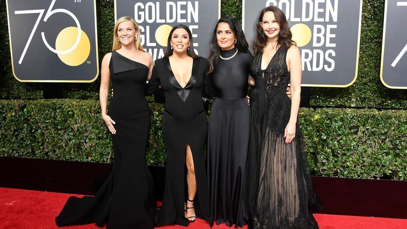 Golden Globes: Wie elegant kann stummer Protest sein?