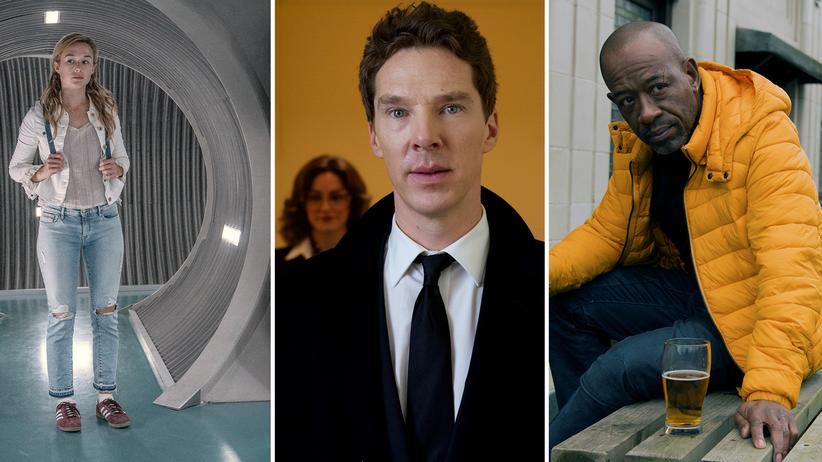 "Binge-Watching: Alba August in ""The Rain"", Benedict Cumberbatch in ""Patrick Melrose"" und Lennie James in ""Save Me""."