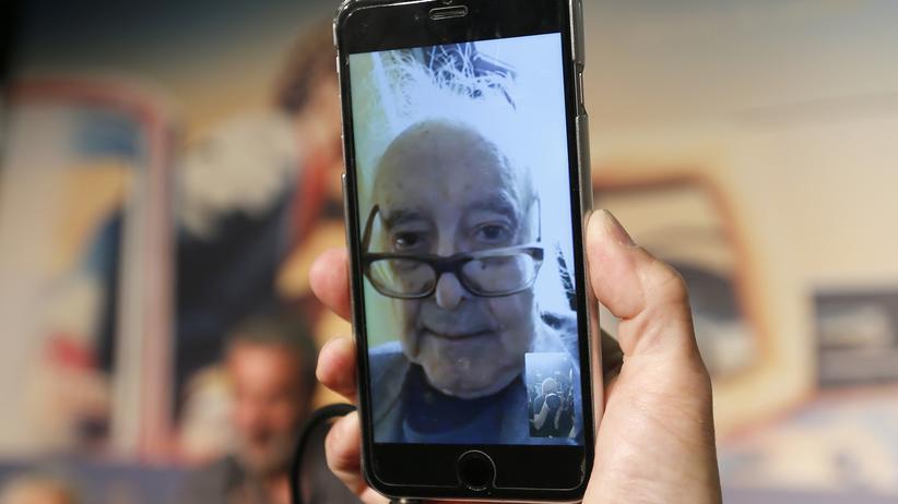 """Le livre d'image"": Der Meister auf dem Screen: Jean-Luc Godard war in Cannes nur per Videokonferenz anwesend."