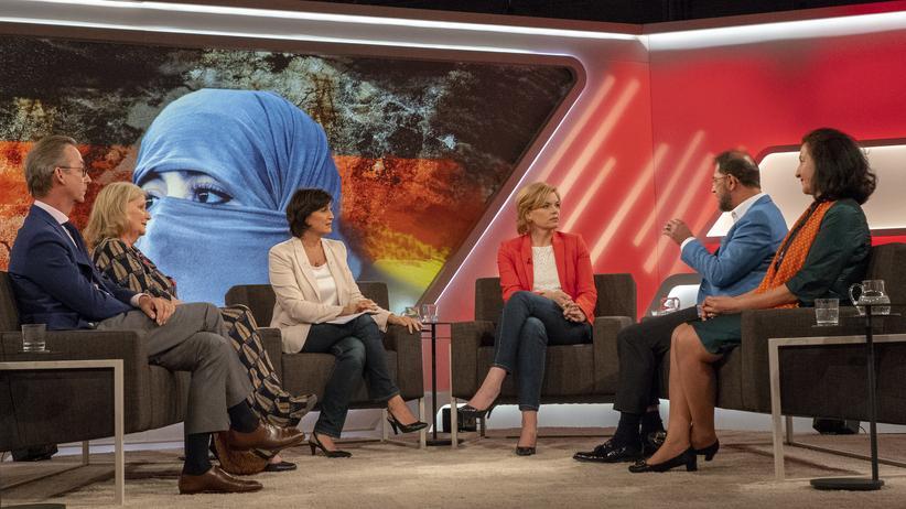 """Sandra Maischberger: Die Maischberger-Runde: """"Sind wir zu tolerant gegenüber dem Islam?"""""""