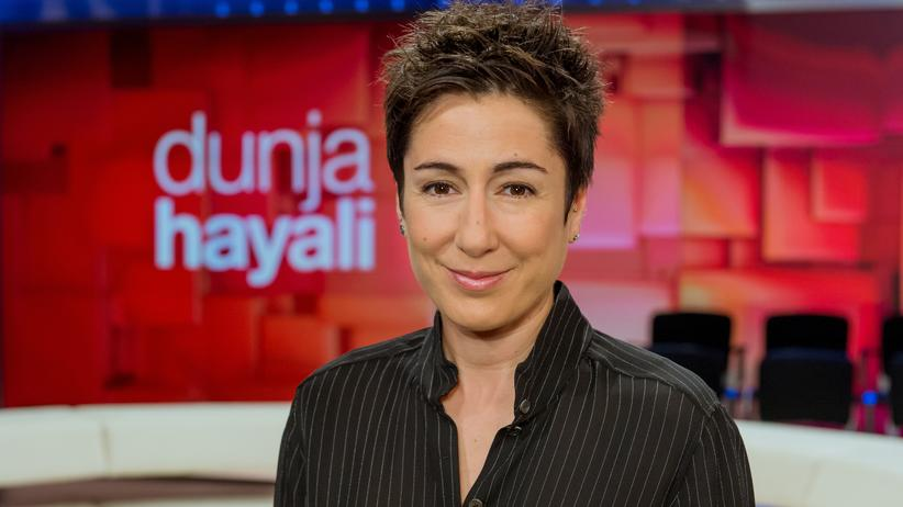 """Dunja Hayali"": Die ZDF-Moderatorin Dunja Hayali"