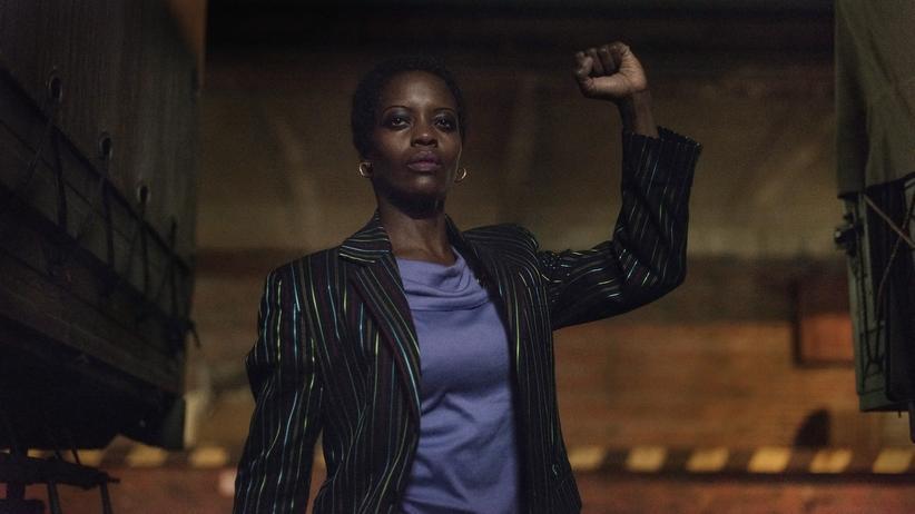 """Florence Kasumba: Florence Kasumba als südafrikanische Widerstandskämpferin Rose Seithathi in der Spionageserie """"Deutschland 86"""""""
