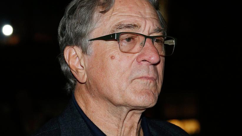 Briefbomben: Robert De Niro während eines Treffens der Academy of Motion Picture Arts and Sciences in New York
