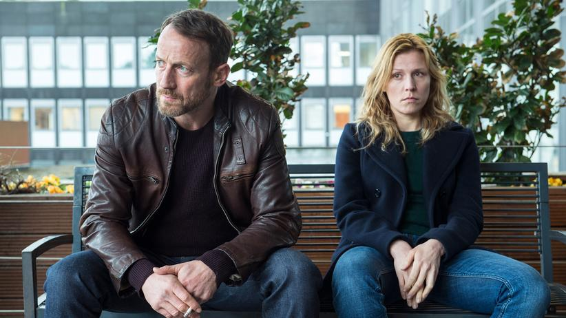 """Tatort"" Hamburg: Unglücklich nach Falllösung: Thorsten Falke (Wotan Wilke Möhring) und Julia Grosz (Franziska Weisz)."