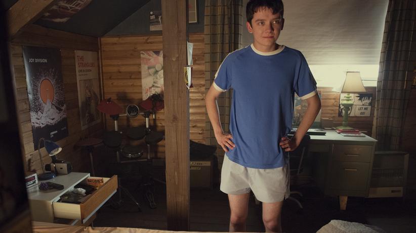 """Geschlechterrollen: So sehen Aufklärer aus: Otis Milburn (Asa Butterfield) in der Netflix-Serie """"Sex Education"""""""