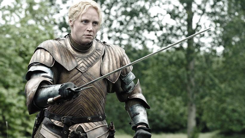 """""""Game of Thrones"""": Eine der kämpferischen Frauen von """"Game of Thrones"""": Die Ritterin Brienne von Tarth (Gwendoline Christie) hat nur eine Schwäche – Jaime Lannister."""