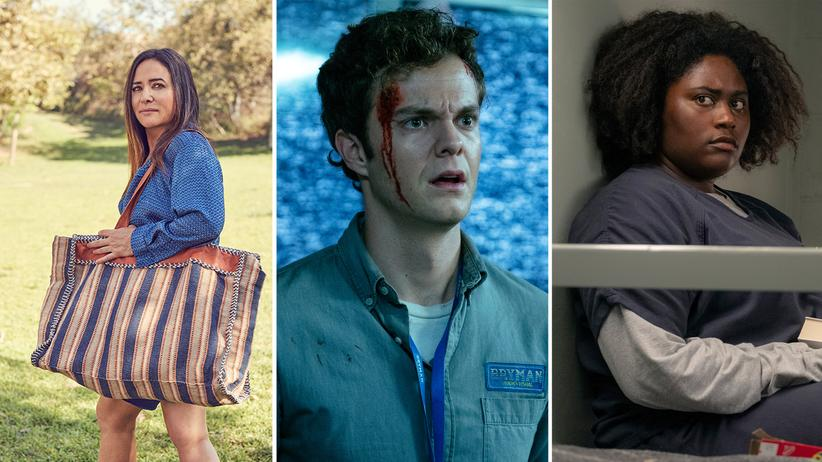 "Binge-Watching: Pamela Adlon als Sam Fox in ""Better Things"", Jack Quaid als Hughie in ""The Boys"" und Danielle Brooks als Taystee in ""Orange Is the New Black"""