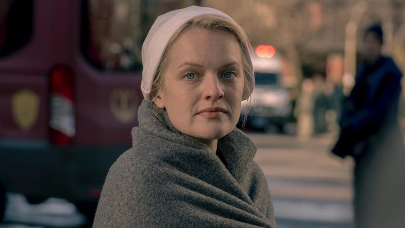 Elisabeth Moss, Hauptdarstellerin und Produzentin der Serie