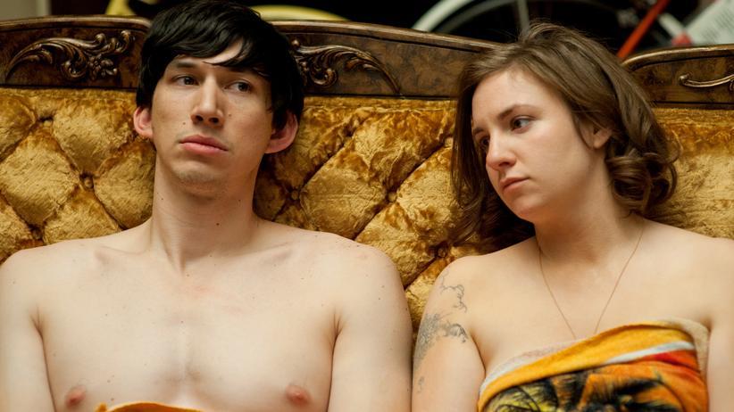 """TV-Serien: Das ganz normale Drama paarungsbereiter Großstadtbewohner: Adam Driver und Lena Dunham 2012 in der Pilotfolge von """"Girls"""""""