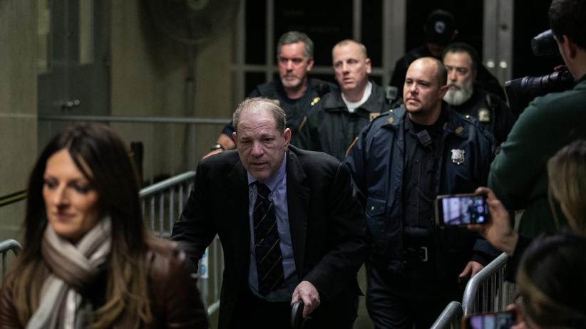 #MeToo: Harvey Weinstein soll mutmaßliche Zeuginnen ausspioniert haben