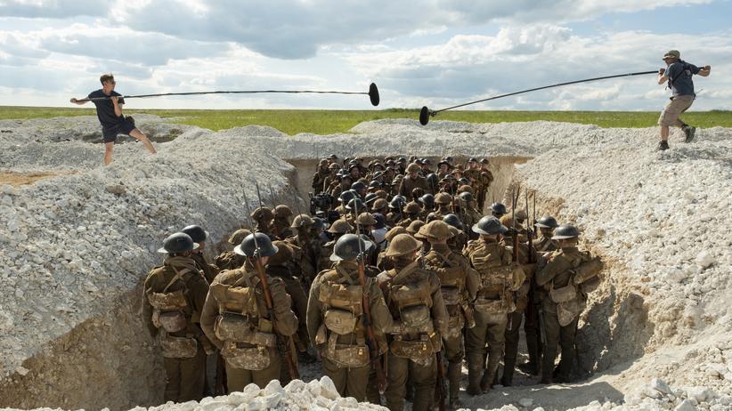 """Kriegsfilm """"1917"""": Dreharbeiten zu dem Film """"1917"""" unter der Regie von Sam Mendes"""