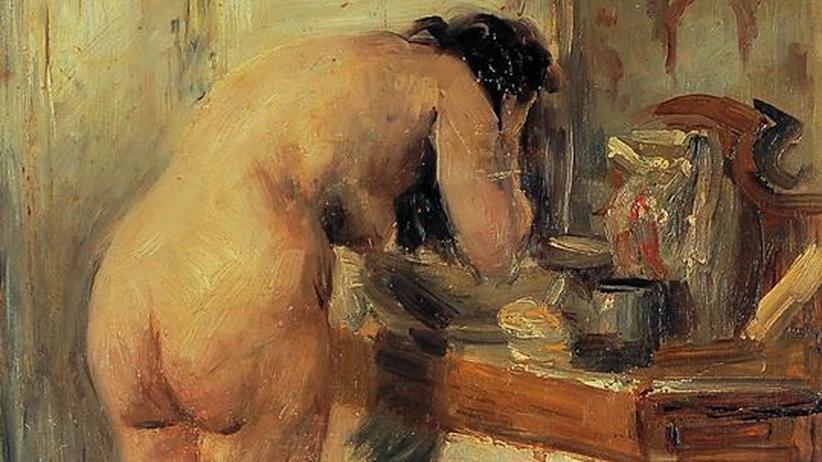 """Was jetzt zu tun ist: Auch in Bielefeld zu sehen: """"Am Waschtisch"""" von Lovis Corinth, 1903"""