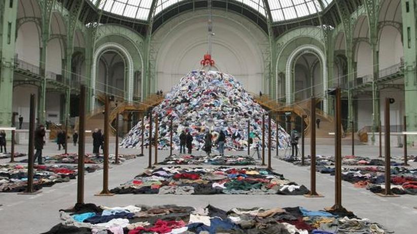 """Kunstausstellung """"Monumenta"""" in Paris: Bitte frieren: Für die dritte »Monumenta« hat Boltanski die Heizungen ausgestellt"""