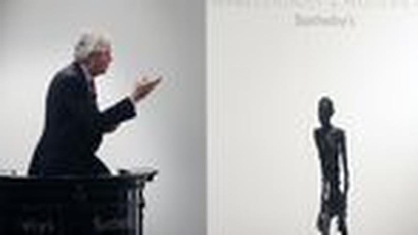 Versteigerung: Giacometti übertrifft Picasso
