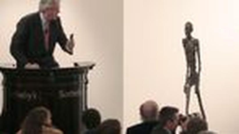Kunstmarkt: Geld für den Hungerkünstler