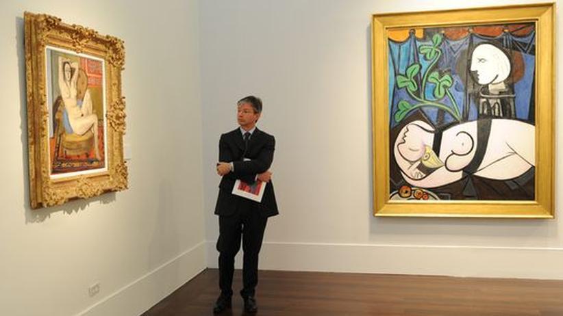 Kunstmarkt: Picasso-Bild erzielt Rekordsumme